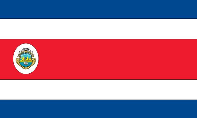 Resultado de imagen para costa rica flag icon