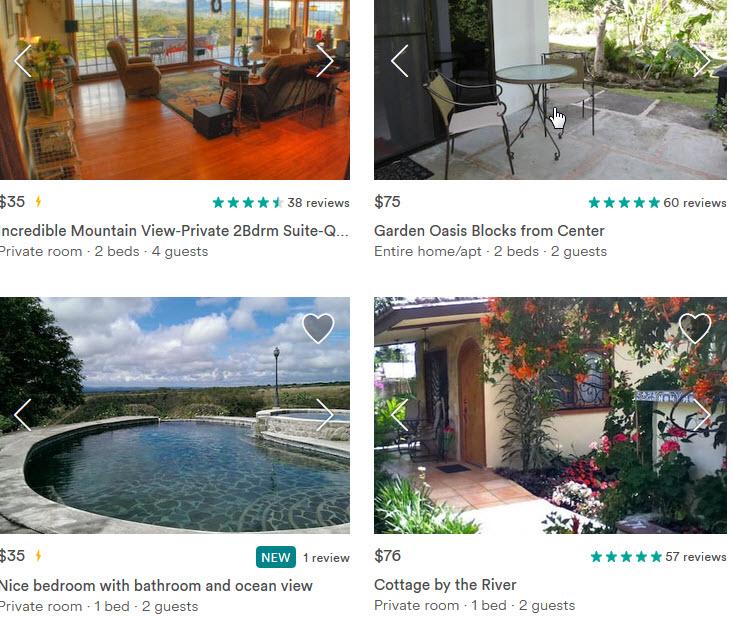 airbnb boquete