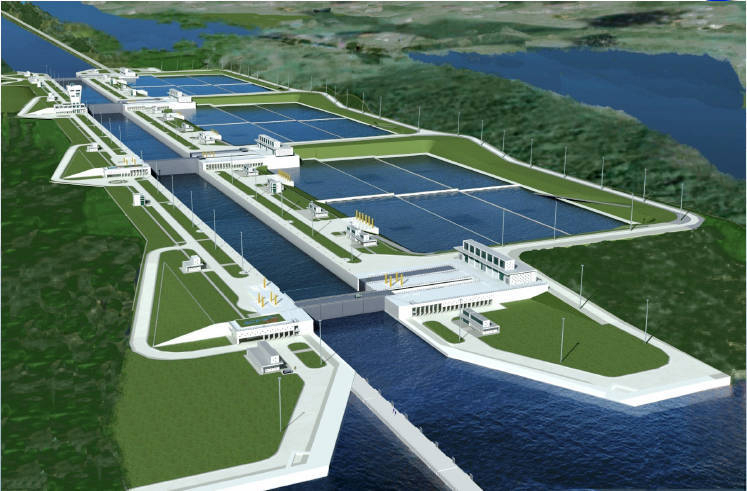 panama canal expansion digs deep and resumes work the panama