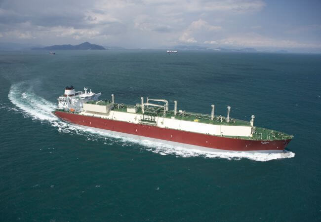 World's second-biggest LNG tanker-class vessel to transit Panama